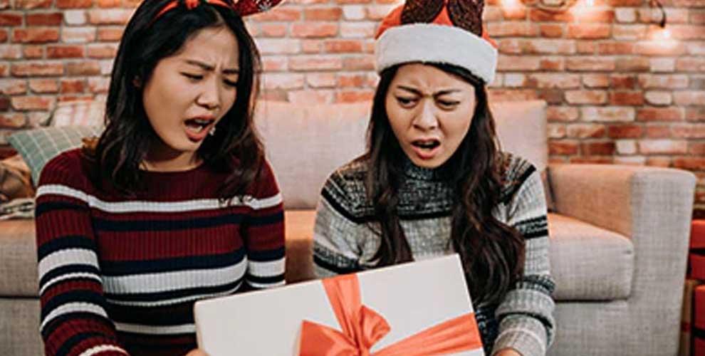 devolucion regalo navideño