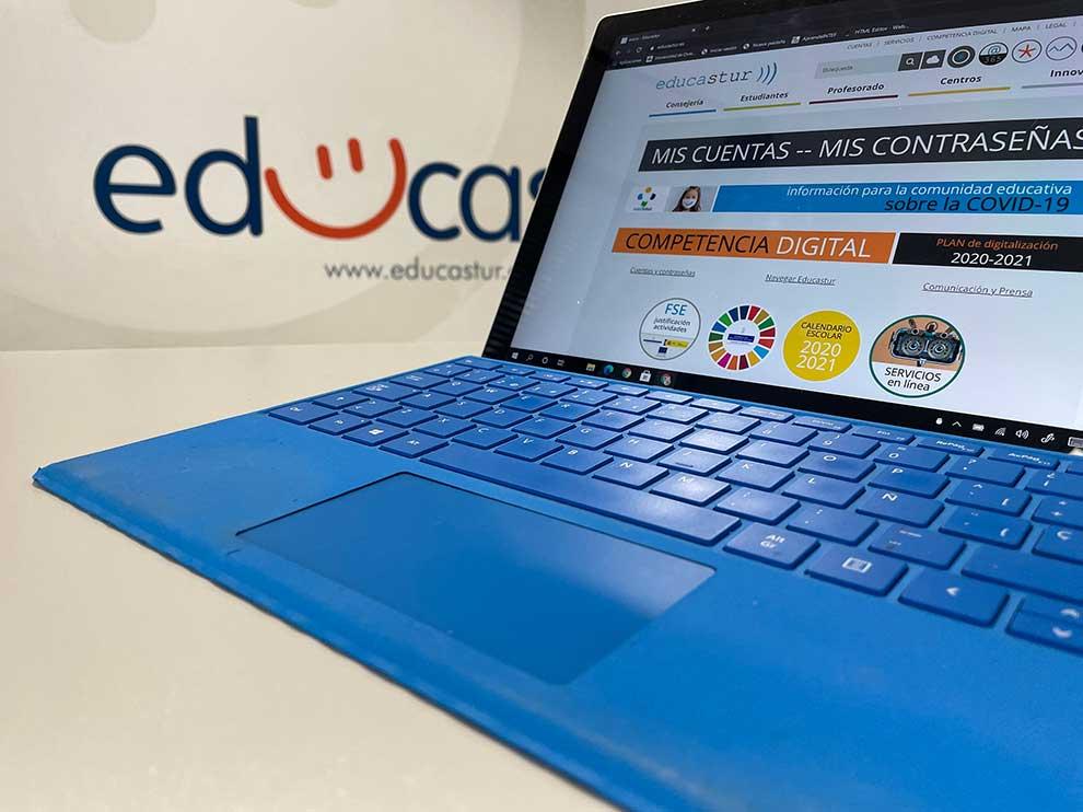 Asturias se digitalizan con los dispositivos Surface de Microsoft